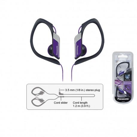 Audífonos Panasonic Negro/Morado - Envío Gratuito