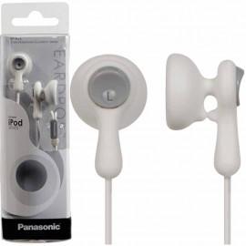Audífonos Panasonic tipo inserción blancos