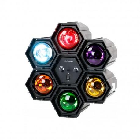 Semáforo Disco con Luces QFX - Envío Gratuito