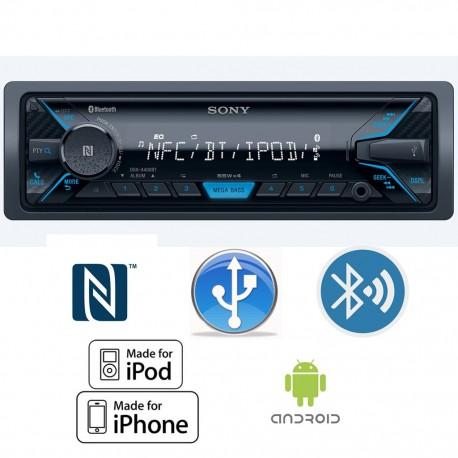 Autoestéreo Sony DSX-A400BT - Envío Gratuito