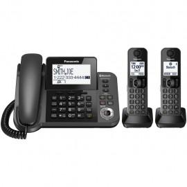 Teléfonos Panasonic KX TGF382M Inalámbricos Bluetooth Link2Cell Refurbished - Envío Gratuito