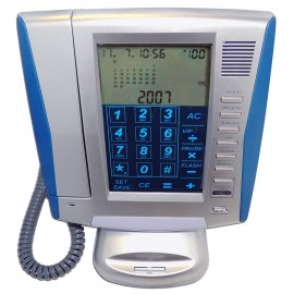 Telefono Alambrico Touch Panel  2 líneas - Envío Gratuito