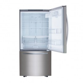 Refrigerador LG 22p3 Bottom Mount Gray GB22BGS - Envío Gratuito
