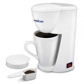 Cafetera Eléctrica 2 tazas American Modelo 6002 - Envío Gratuito
