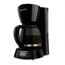 Cafetera B+D Negra 12 Tazas Mod.BCM1410B - Envío Gratuito