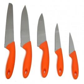 Juego De Cuchillos Big Fantasy Colors Orange - Envío Gratuito
