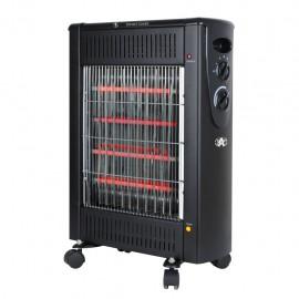 Calefactor de Halógeno Alpine 1200W Portátil AI18126 - Envío Gratuito