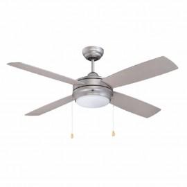 """Ventilador de Techo Cool Fan 52"""" Plata/Mate - Envío Gratuito"""