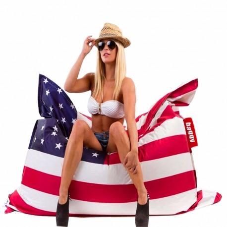 Sillón Puff Baggy Elemental Estados Unidos - Envío Gratuito