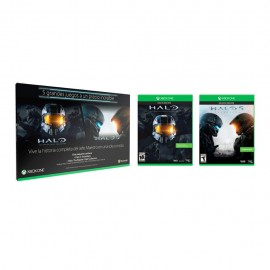 Videojuego Halo 5 + Halo Master Chief Collection XBox-One Microsoft - Envío Gratuito