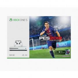 Consola Xbox One S + Juego Pro Evolution Soccer 2018 + Control - Envío Gratuito