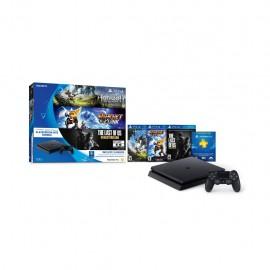 Consola PS4 con 3 Juegos y Suscripción por 3 meses a PS Plus - Envío Gratuito