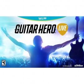 Videojuego Guitar Hero Live Special Bundle para Wii U - Envío Gratuito