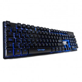 Teclado Start the Game Vorago KB-502 Negro - Envío Gratuito
