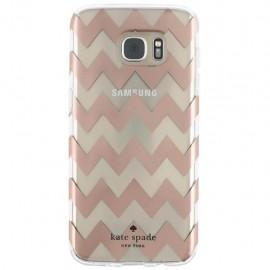 Protector Kate Spade Hardshell Chevron Rosa Oro Acce Samsung - Envío Gratuito