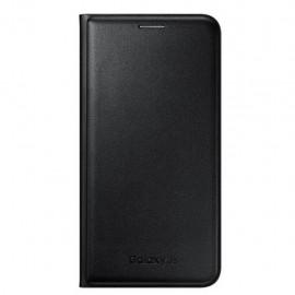 Funda Protectora Flip Wallet Negro Para J7 Acce Samsung - Envío Gratuito