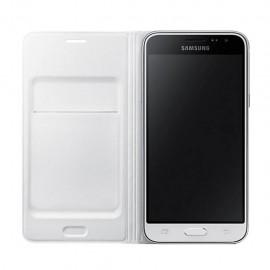 Funda Protectora Flip Wallet Blanco Galaxy J3 Acce Samsung - Envío Gratuito
