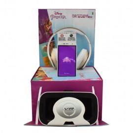 Kempler & Stauss Smart Phone Princesas + Audífonos + Lentes Realidad Virtual - Envío Gratuito