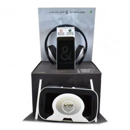 Kempler & Stauss Smart Phone + Audífonos + Lentes Realidad Virtual - Envío Gratuito