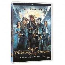 Piratas Del Caribe La Venganza De Salazar DVD - Envío Gratuito
