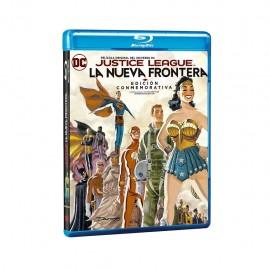 Justice League La Nueva Frontera Edición Conmemorativa Blu ray - Envío Gratuito