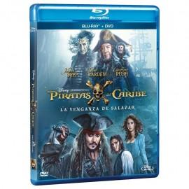Piratas Del Caribe La Venganza De Salazar Blu ray Dvd - Envío Gratuito