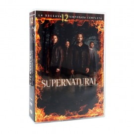 Supernatural Temporada 12 DVD - Envío Gratuito