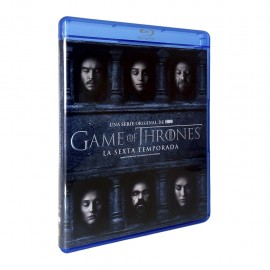Game Of Thrones Temporada 6 Blu-ray - Envío Gratuito