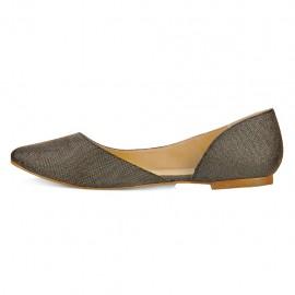 Zapato Crivelli Color Oro - Envío Gratuito
