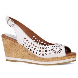 Zapato Suave Caminar Color Blanco - Envío Gratuito