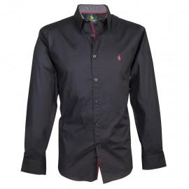 Camisa Polo Club 7000 Negro - Envío Gratuito