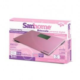 Báscula digital de baño rosa - Envío Gratuito
