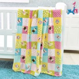 Cobertor Baby Ligero carriola arcoiris - Envío Gratuito