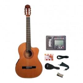 Guitarra Clásica-Eléctrica Washburn WC90CEPAK - Envío Gratuito
