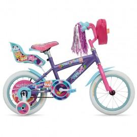Bicicleta Veloci Tutti Bunny R14 - Envío Gratuito