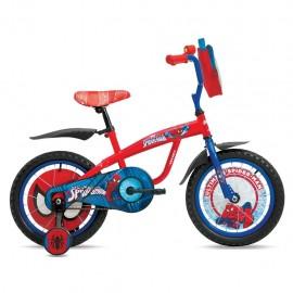Bicicleta Veloci Spiderman R16 - Envío Gratuito