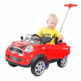 Mini Cooper Push Rojo Prinsel - Envío Gratuito