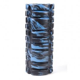 Rodillo Masajeador (Negro con Azul) - Envío Gratuito