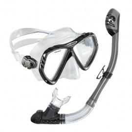 Set de Visor y Snorkel Regal de Silicón U.S Divers USDREGA - Envío Gratuito