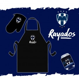 Rayados Paquete Asador - Envío Gratuito
