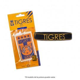 Combo Tigres 5: 1 Pulsera de Silicón + 1 Aromatizante multiusos Voltoch Tigres Oficial - Envío Gratuito