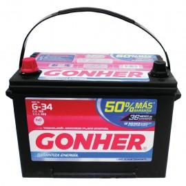 Batería Gonher G34 - Envío Gratuito