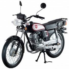 Motocicleta Estándar Kurazai Classic Negra 125 cc - Envío Gratuito