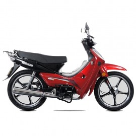 Motocicleta Tipo Urbana Kurazai Galaxy Roja 110 cc - Envío Gratuito