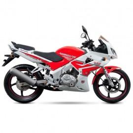 Motocicleta Deportiva Kurazai Yakuza Rojo/Blanco 200 cc - Envío Gratuito