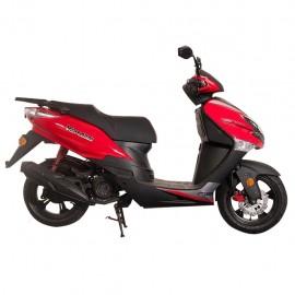 Motocicleta Tipo Scooter Kurazai Venom Roja 175 cc - Envío Gratuito