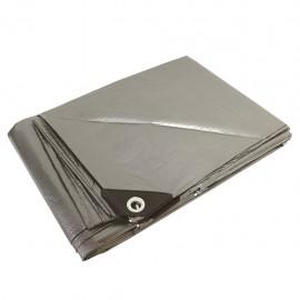 Lona uso pesado 6x12m gris - Envío Gratuito
