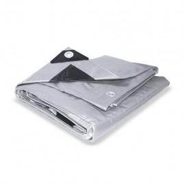 Lona para uso pesado gris con negro 3 x 3m Santul - Envío Gratuito