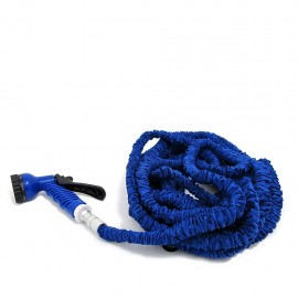 Manguera FleXible POP 15 Mts + Pistola de Regalo-Azul - Envío Gratuito