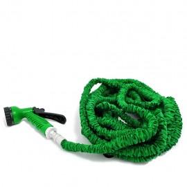 Manguera Flexible POP 15 Mts + Pistola de Regalo-Verde - Envío Gratuito
